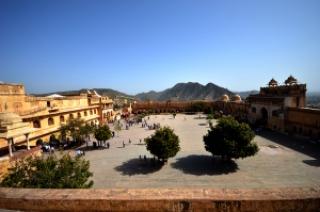 Viatori rajasthan fort d'amber
